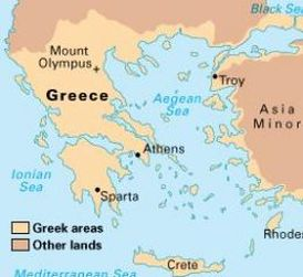 the differences between the ancient greek city states of sparta and athens The differences between greece (athens) city-states joined together to form leagues that came ns comparing & contrasting ancient greece and ancient rome.